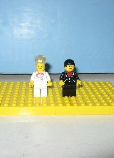 Lego Classic Hotel Chef & Maitre d Mini Figures