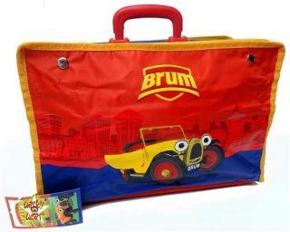 BRUM The Little Oldtimer Cars Foldable Suitcase Bag NEW