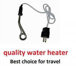 Water Coffee Tea Immersion Liquid Travel Portable Heater Element 500W