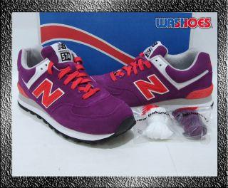 New Balance ML574KPU Grape Purple Red US 5~10.5 Mens running 595 850