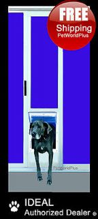 IDEAL Fast Fit PATIO Panel Insert Pet Dog Door Flap    XX Large 15