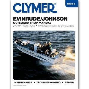 Repair Manual 2 70 HP Two Stroke Outboards & Jet Drive 1995 2003