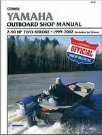 Manual Book Yamaha 2 90 HP 2 Stroke Outboard Jet Drive 1999 2002