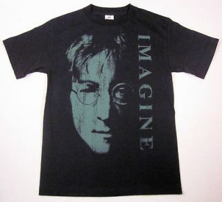 John Lennon Imagine T shirt Beatles Rock Tee SzS New
