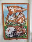 28 by 40 Texas Longhorns Garden Flags/ Banners (Monthly Themes)
