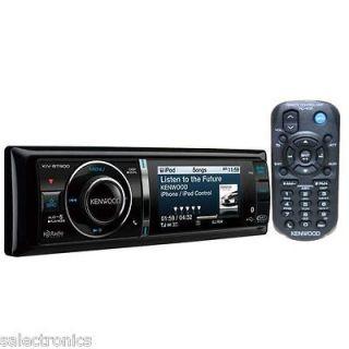 Kenwood Kiv BT901 USB iPod/iPhone Receiver LCD Video Screen 1 DIN