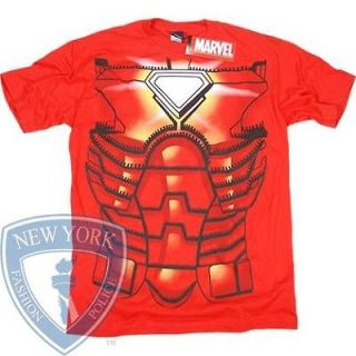 IRON MAN T SHIRT COSTUME TONY STARK MARVEL COMICS TEE M