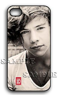 APPLE iPHONE 4 4S HARRY STYLES ONE DIRECTION 1D HARD CASE CHRISTMAS