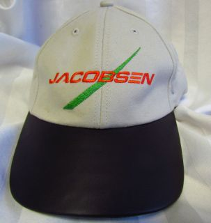 Baseball Hat Cap Jacobsen Golf Course Turf Maintence Lawn Mower USA