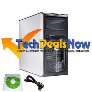 SUPER FAST DELL DUAL CORE CORE 2 DUO TOWER COMPUTER PC WINDOWS 7