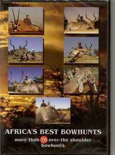 Africas Best Bowhunts Vol. 3 ~ Fair Game ~ Hunting DVD