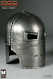 IRON MAN   Mark 1 Helmet Prop Replica (Museum Replicas) #NEW