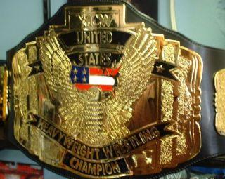 wcw championship belt in Fan Apparel & Souvenirs