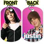 Justin Bieber Cute Tween Photo Charm Pendant Necklace 0