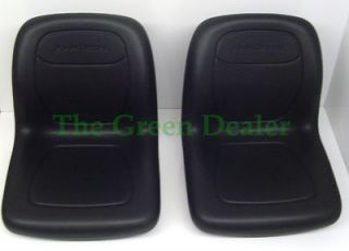 Newly listed JOHN DEERE GATOR HIGH BACK BLACK SEAT SET FITS 4X2 6X4