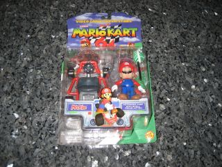 Mario Kart 64 Mario Action Figure Brand New In Box