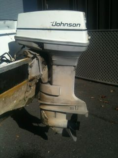 Johnson 50 Outboard Boat Motor 2 Stroke Evinrude OMC SHIP ANYWHERE!