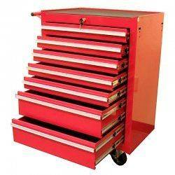 Rolling Tool Storage Chest   by Excel   TB2080BBS B Re​d