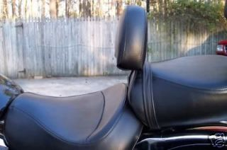 Kawasaki 1500 Vulcan Classic or Nomad Drivers Backrest quick release