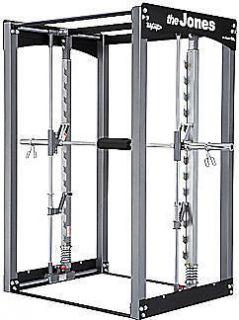 BODYCRAFT JONES Club Smith Machine Home Gym Fitness Power Rack Cage