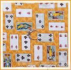 BOOAK Fabric Alice in Wonderland Disney B&W Yellow Red Heart Queen
