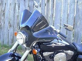 SS 20 Stealth Tint Windshield Kawasaki VN1500 Vulcan Classic 96 97 98