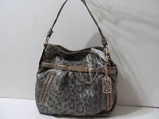 kathy van zeeland leopard handbag in Handbags & Purses