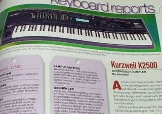 kurzweil keyboards in Electronic Keyboards