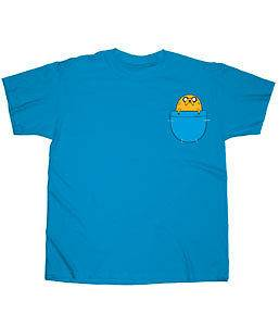 AUTHENTIC CARTOON NETWORK ADVENTURE TIME WITH FINN & JAKE IN POCKET T