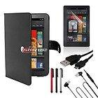 19 Item Accessories Bundle  Kindle Fire 7in 8GB Tablet