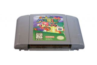 NINTENDO N64 MARIO KART 64 VIDEO GAME 1997 WORKS