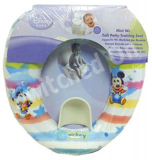 MICKEY MOUSE KIDS CHARACTER TOILET TRAINING SEAT   PADDED SEAT