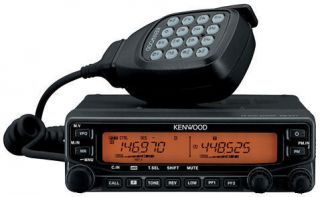 Kenwood TM V71A VHF & UHF Dual Band Mobile Two Way Ham & Amat Radio