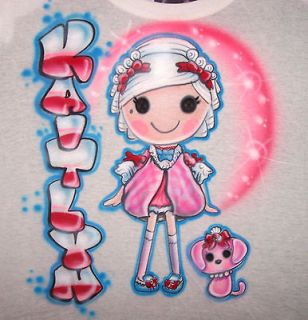 Airbrushed Lalaloopsy Suzette La Sweet Doll T Shirt Airbrush any name