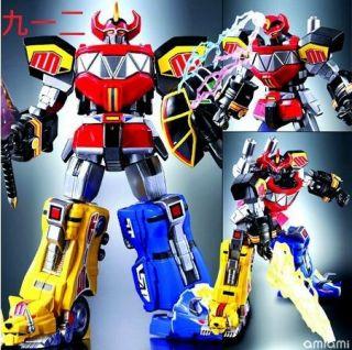 Bandai Action Figure Super Robot Chogokin Kyoryu Sentai Zyuranger
