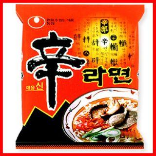 Shin Ramyun X 5PCS / ramyun, ramen, Korean Instant noodle soup