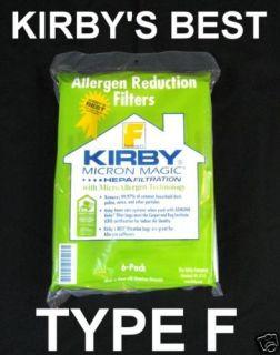 kirby vacuum bags style f in Vacuum Cleaner Bags