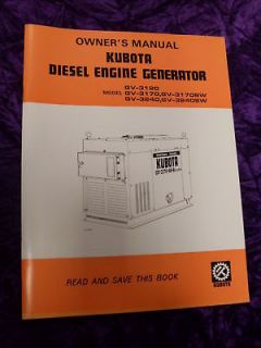 kubota diesel generator in Business & Industrial