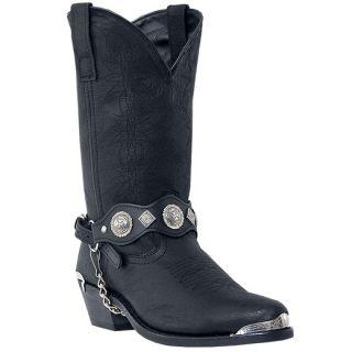 Dingo 12 Mens Western Cowboy Black Boots Size 7 16