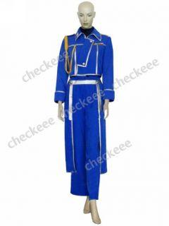 Custom made Full Metal Alchemist Riza Hawkeye Military Cosplay Costume