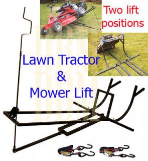 riding lawn mower lift in Yard, Garden & Outdoor Living