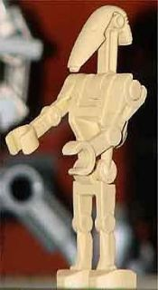 Lego Star Wars Battle Droid w Straight Arm Minifig fr 7662