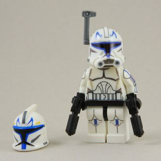 LEGO Star Wars Captain Rex Clone Trooper Phase 2 Armor Mini Figure