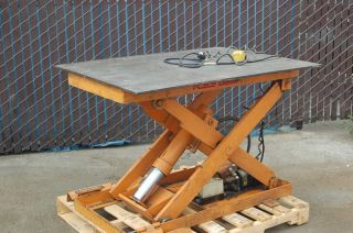 Rol Lift 2000# Electric Hydraulic Pallet Lift Table GUR