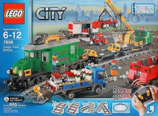 Lego City Town Cargo Train Deluxe New Seale