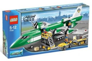 Lego City/Town set: 7734 Cargo Plane / Brand New/ HTF/Sealed