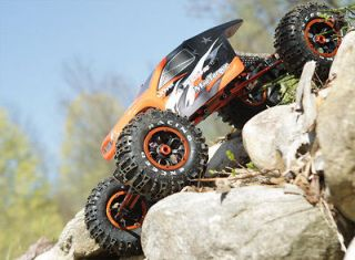 8th Electric RTR RC Rock Crawler with 2.4 Ghz Radio System   NEW