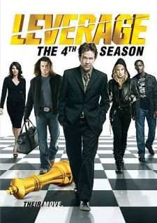 Leverage The 4th Season (DVD, 2012, 4 Disc Set)