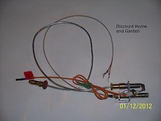 Heat n Glo Heatilator Gas Log Fireplace Propane Gas Pilot Assembly