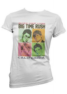 Big Time Rush  Pacific Coast Living T shirt